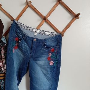 Vintage America Embroidered Jeans 158